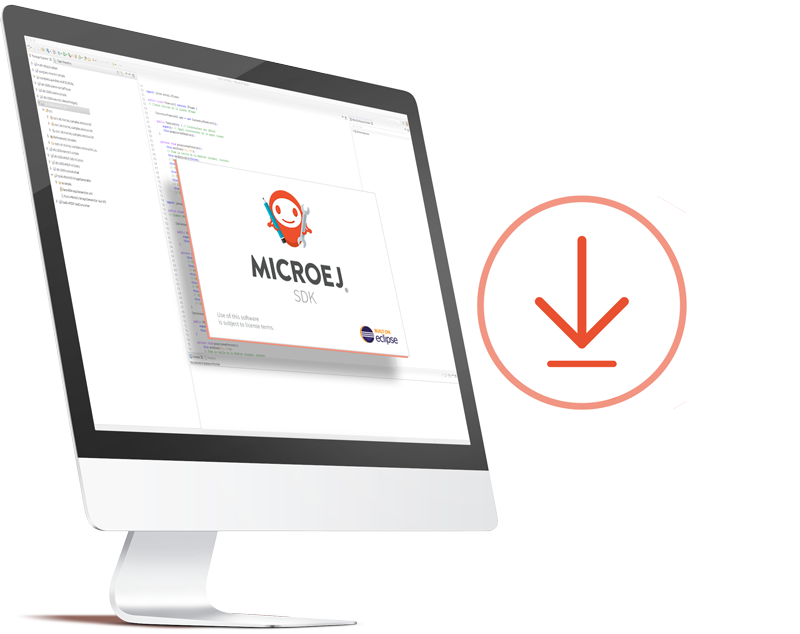 Download MicroEJ for free embedded development